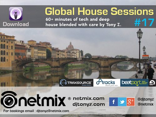Netmix Global House Sessions 17 Web Banner