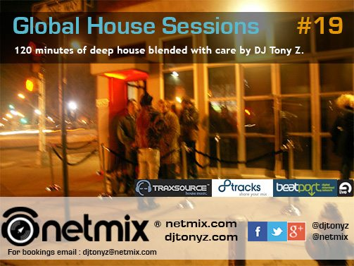 Web flyer Netmix Global House Sessions Podcast Episode 19